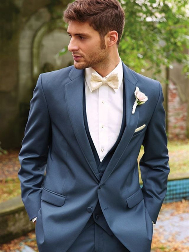 02DeerPearlFlowers.com-serenity blue wedding tuxedo